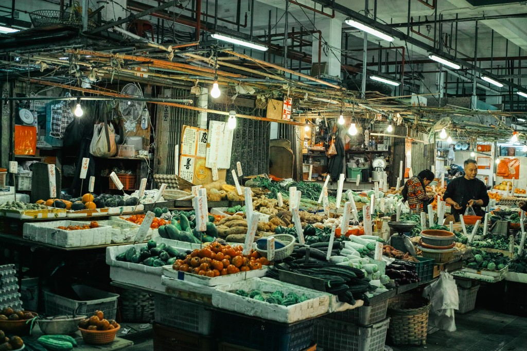 5 Food Markets of Hong Kong – with 6 cameras