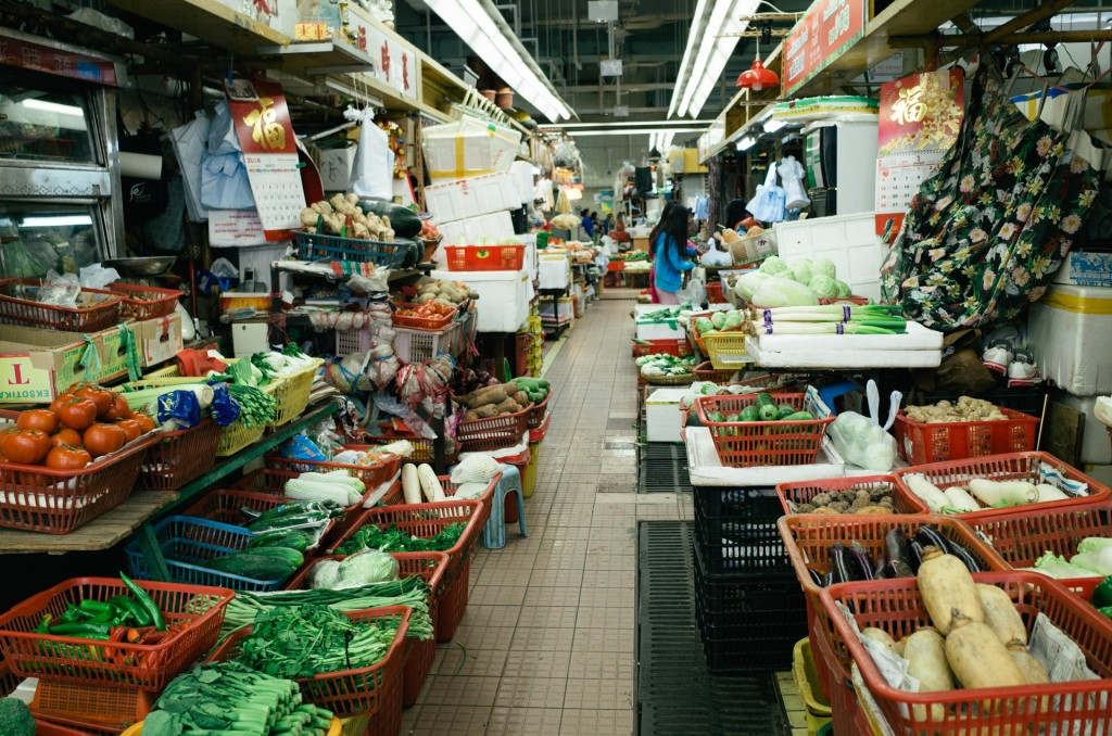 Food Markets Of Hong Kong 07